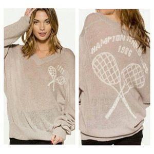 WildFox Hampton's Tennis Club Sweater